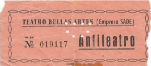 Entradas Cecilia 1 - Bellas Artes