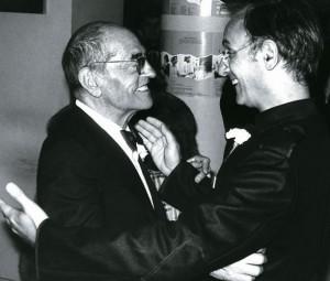 Buñuel y Carlos Saura 1977
