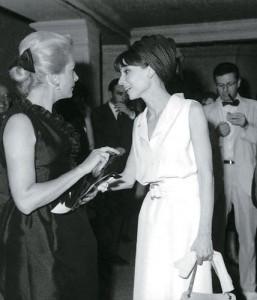 Deborah Kerr y Audrey Hepburn 1964