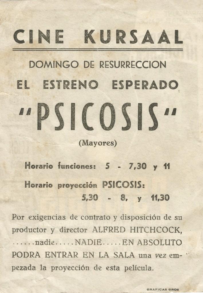 Psicosis reverso - Eguzkiza