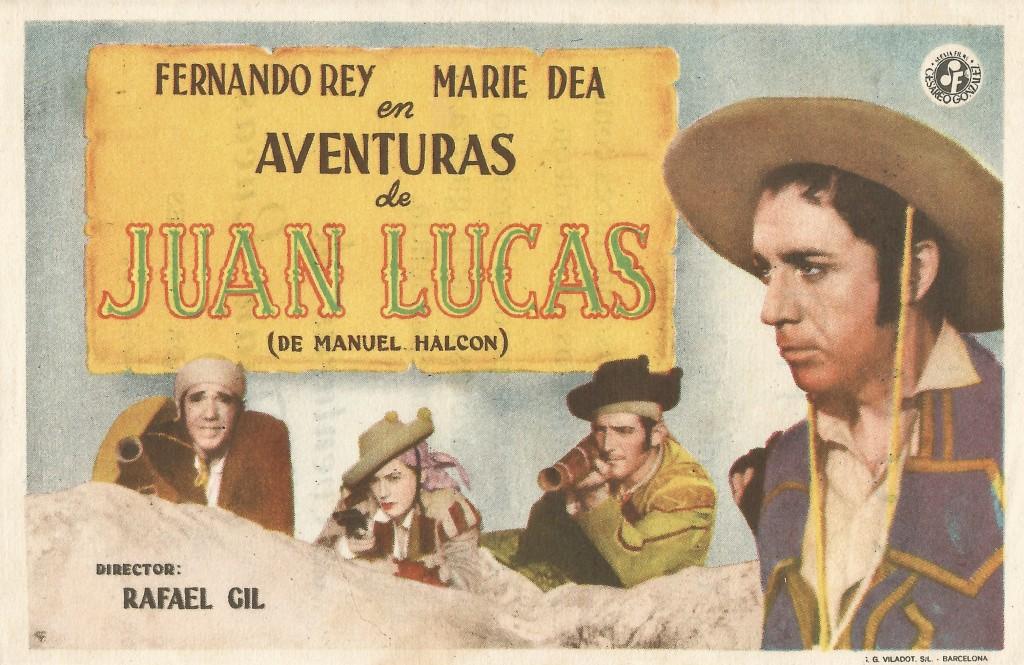Aventuras de Juan Lucas anverso - Kursaal - Eguzkiza