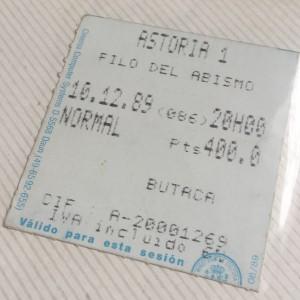 1989 AL FILO DEL ABISMO