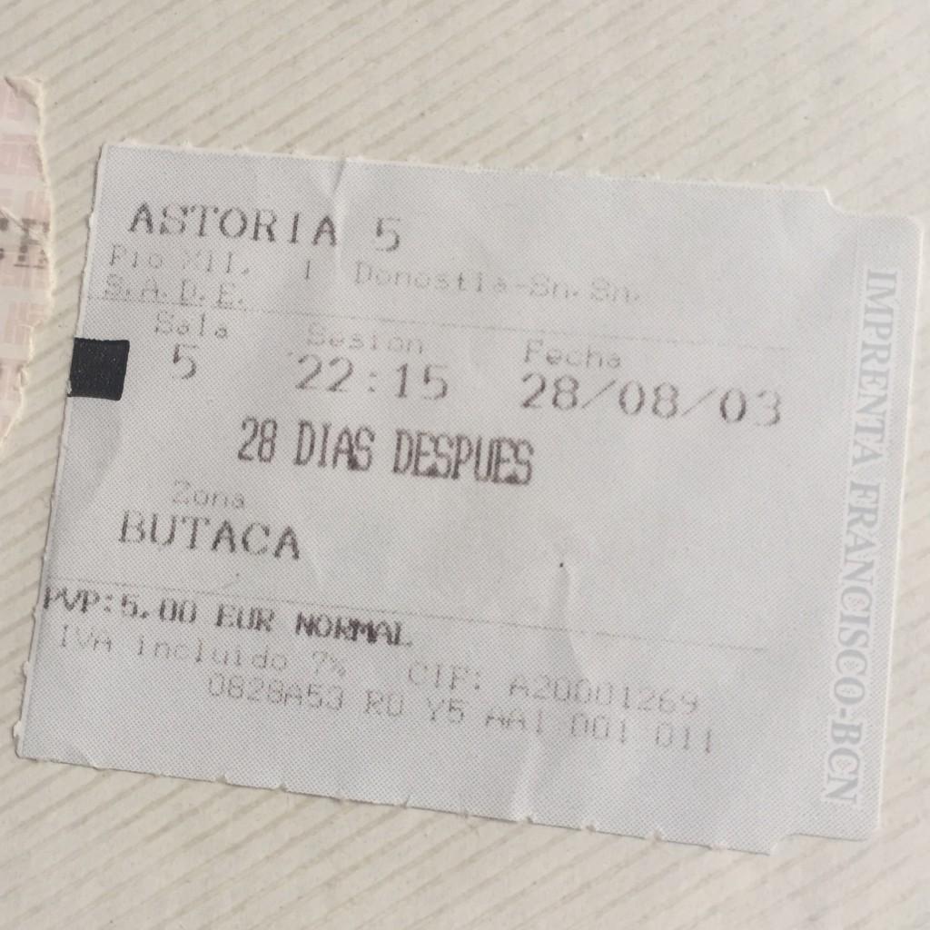 2003 28 DIAS DESPUES