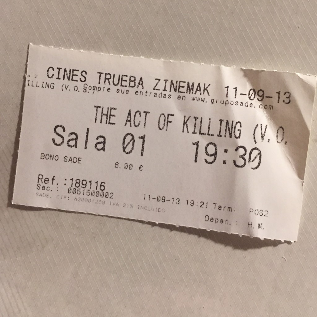 2013 THE ACT OF KILLING