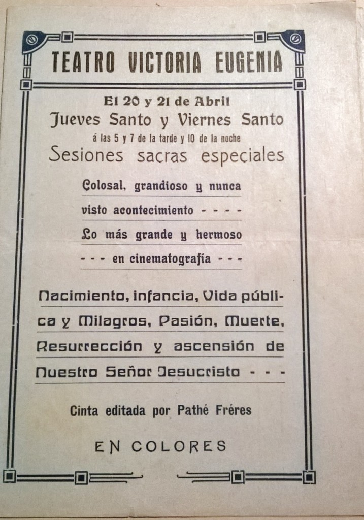 Jueves Santo 1916 portada