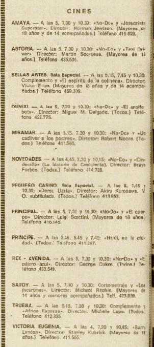 La Voz 06abr1977 Cartelera.jpeg