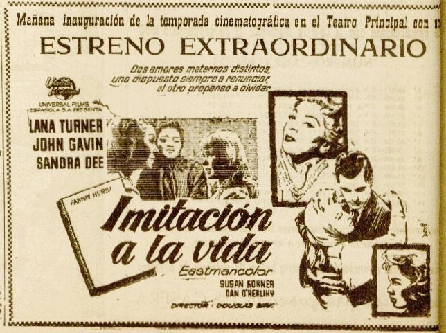 La Voz 18set1960 estreno Imitación a la vida.jpeg