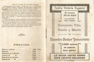Victoria Eugenia 20abr1916 Jueves Vida pasión y muerte (1y16de16)