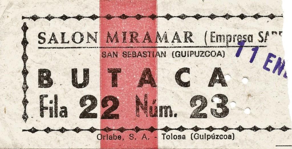 Entradas Yolanda - Miramar