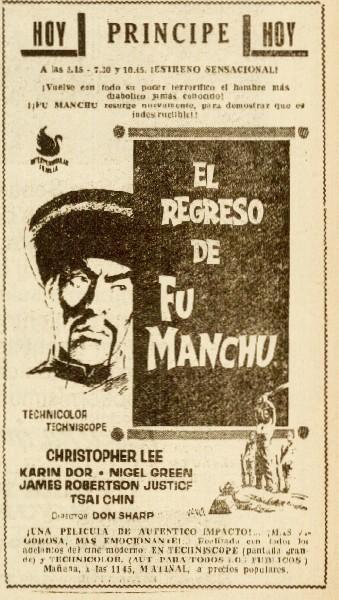 La Voz 18jun1966 Fu Manchu.jpeg
