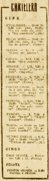 La Voz de E 15jun1957 Cartelera con continuas.jpeg