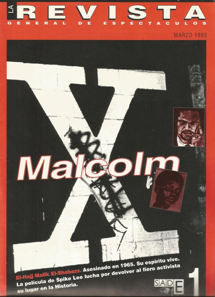 La Revista - Portada n1 MalcolmX