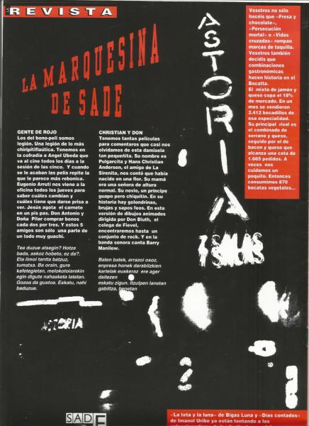 La Revista - n17 contraportada Marquesina