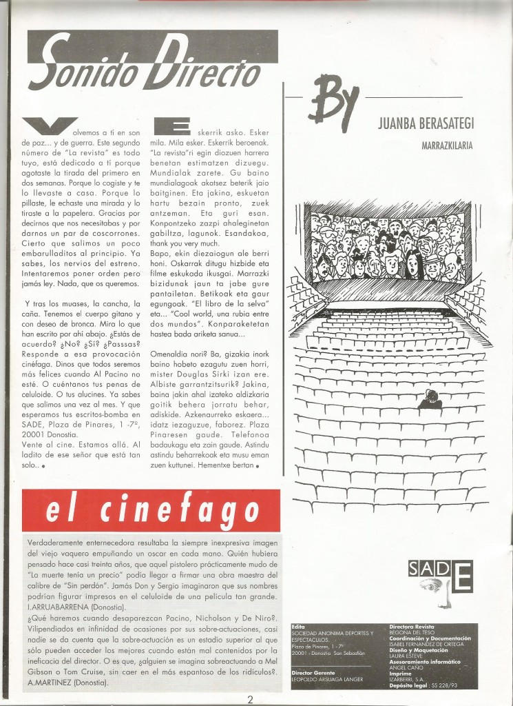 La Revista - n2 p2 Juanba0011