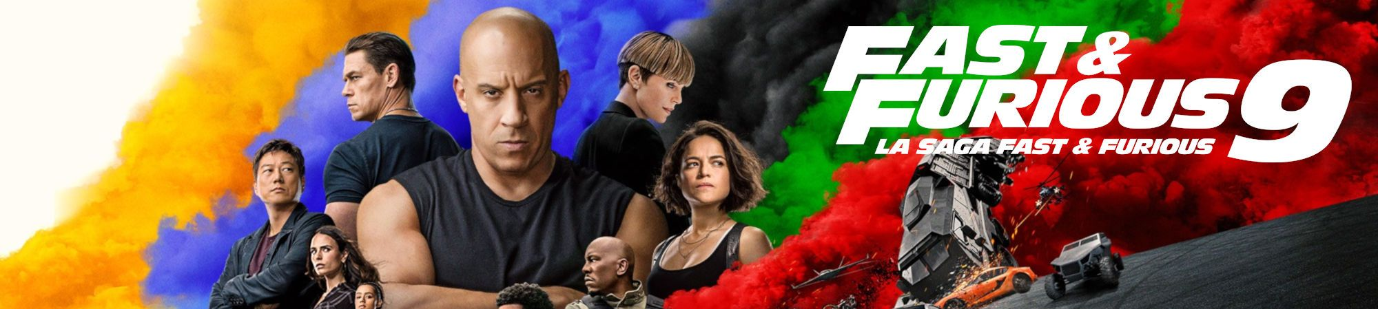 Fast & Furious 9 (Banner Superior)