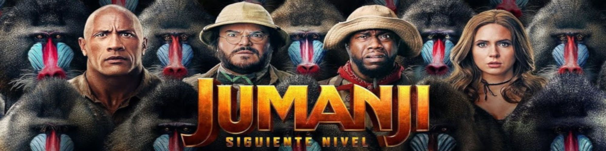 JUMANJI Siguiente Nivel (Banner Superior)