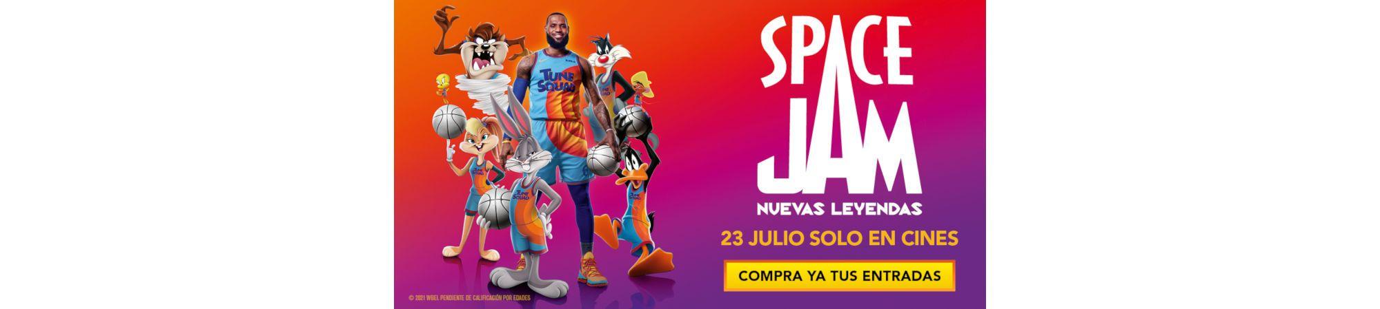 SPACE JAM Nuevas Leyendas (Banner Superior)