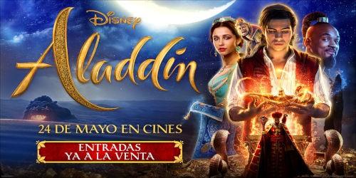 Entradas Aladdin