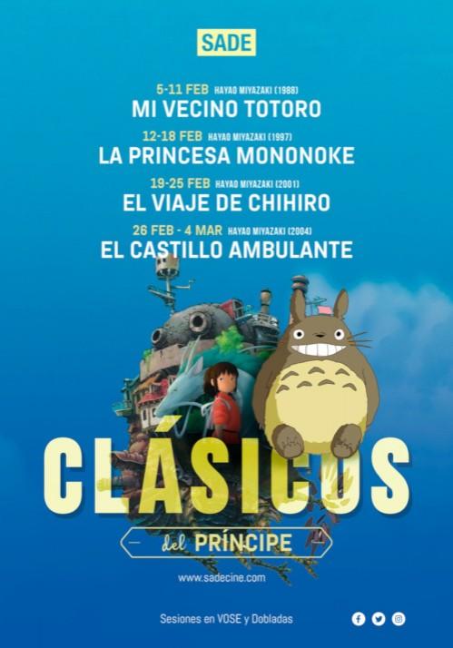 Clásicos del anime japonés en Donostia San Sebastián Hayao Miyazaki