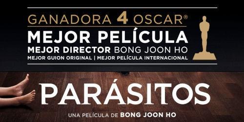 LA GANADORA DE LOS 'OSCAR 2020'