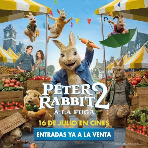 PETER RABBIT 2 A la fuga estreno en Donostia San Sebastián