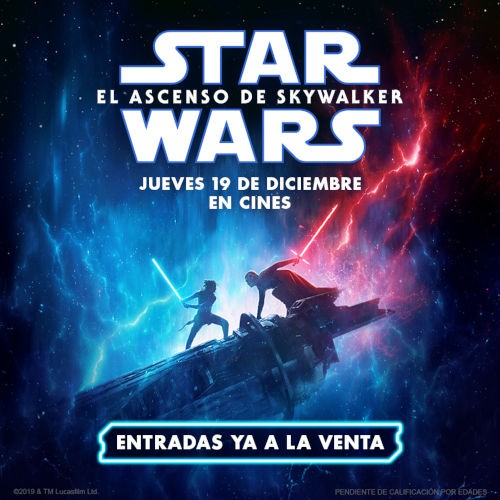 STAR WARS El ascenso de Skywalker (DONOSTIA SAN SEBASTIAN)