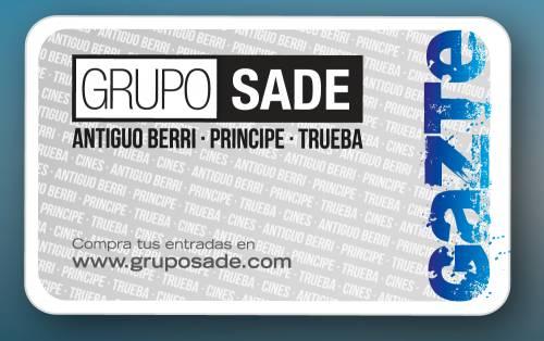 Tarjeta Gazte Club Sade