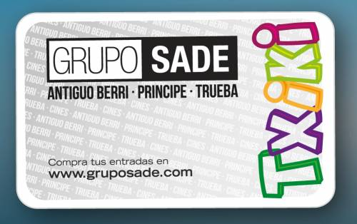 Tarjeta Txiki Club Sade