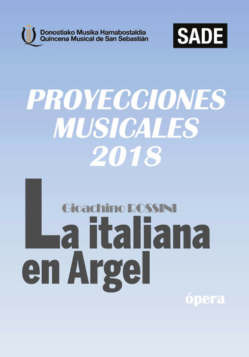 QUINCENA MUSICAL 2: 'La italiana en Argel'